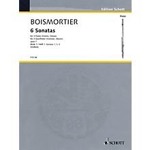 Schott 6 Sonatas, Op. 7 for Three Flutes - Vol 1 Schott by Joseph Bodin De Boismortier Arranged by Erich Doflein