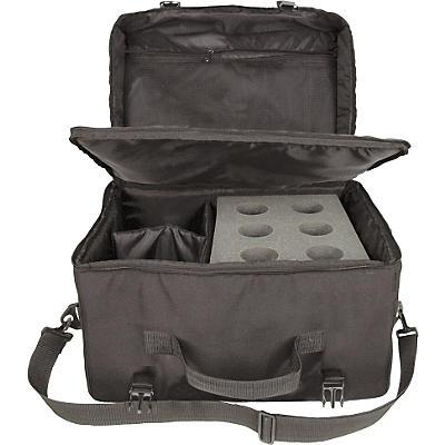 Musician's Gear 6-Space Microphone Bag