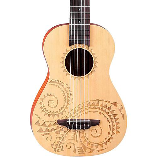 open box luna guitars 6 string baritone ukulele tattoo musician 39 s friend. Black Bedroom Furniture Sets. Home Design Ideas