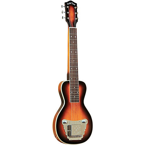 Gold Tone 6-String Solid Body Lap Steel For Left Hand Players Tobacco Sunburst
