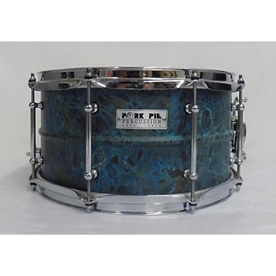 Pork Pie 6.5X13 Patina Brass Drum