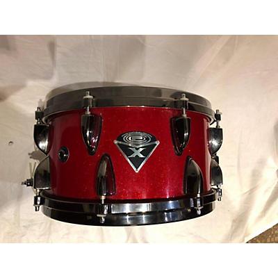 Orange County Drum & Percussion 6.5X13 Red Sparkle Snare Drum