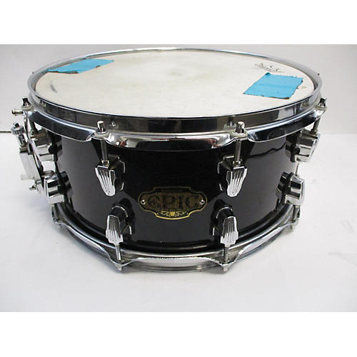 Ludwig 6.5X14 Epic Snare Drum Black 15