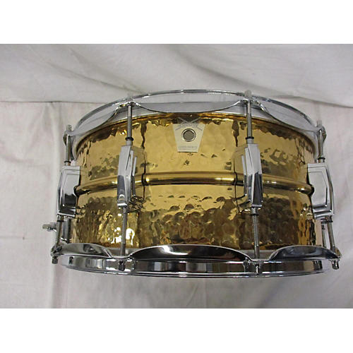 Ludwig 6.5X14 Hammered Snare Drum BRASS 15