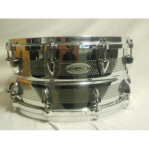 Orange County Drum & Percussion 6.5X14 Micro Vent Steel Snare Drum Chrome 15