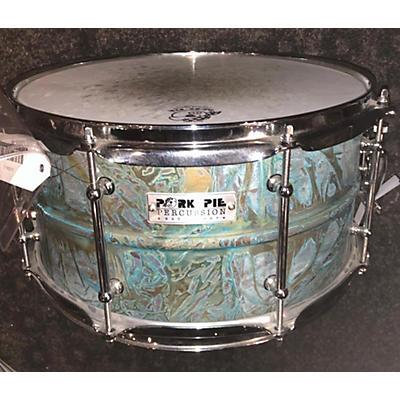 Pork Pie 6.5X14 Patina Brass Drum
