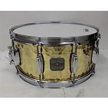 Gretsch Drums 6.5X14 Silver Series Hammered Brass Drum