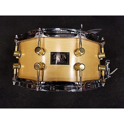 Spaun 6.5X15 Maple Snare Drum
