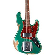 60 Jazz Bass Heavy Relic Aged Sherwood Green Metallic