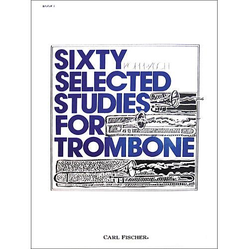 Carl Fischer 60 Selected Studies for Trombone Book 1