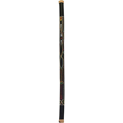 Pearl 60 in. Bamboo Rainstick in Hand-Painted Hidden Spirit Finish