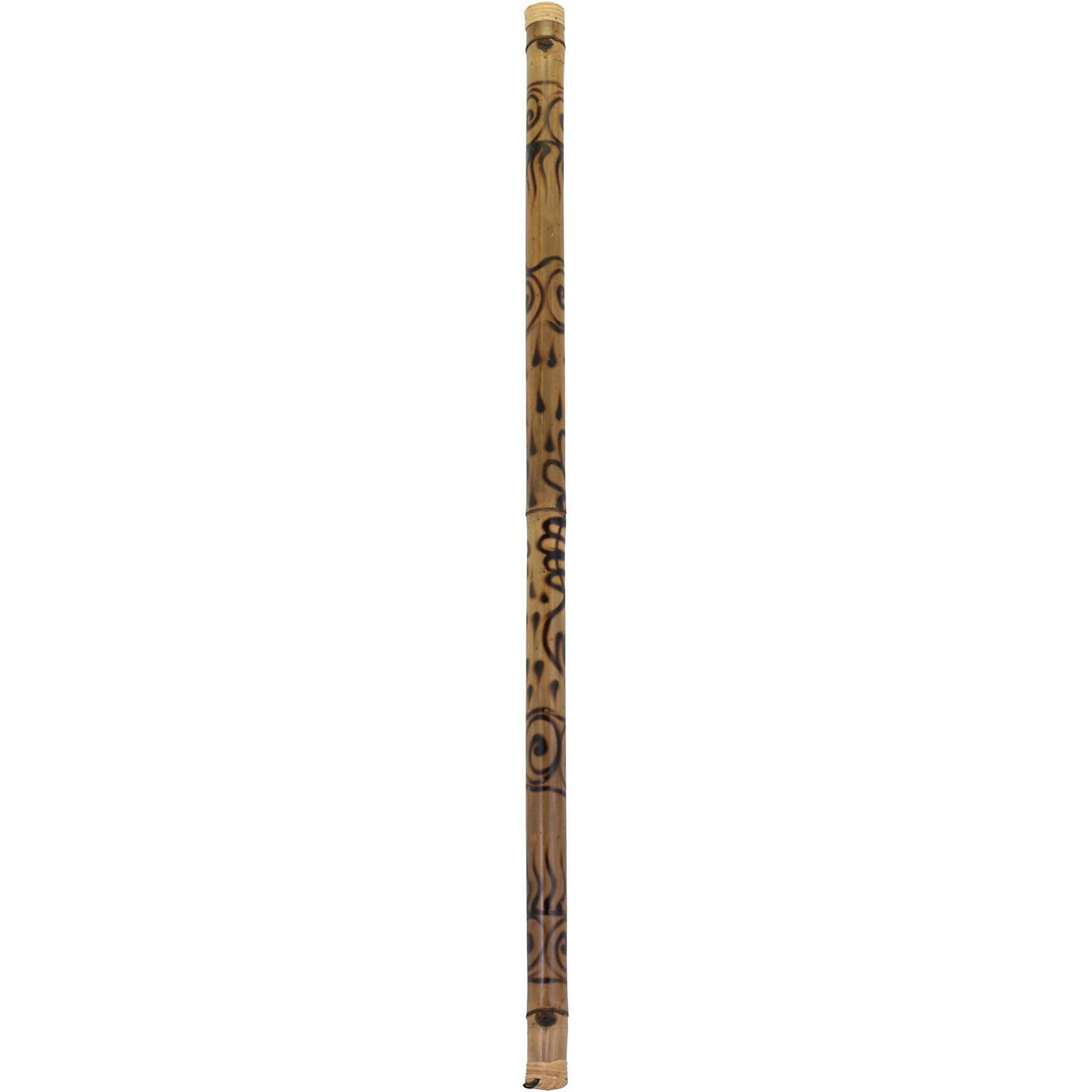 Pearl 60 in. Bamboo Rainstick in Hand-Painted Rhythm Water Finish