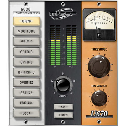 McDSP 6030 Ultimate Compressor Native v6 (Software Download)