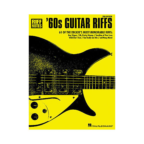 Hal Leonard '60s Guitar Riffs - 2nd Edition Book