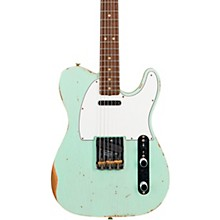 60s Relic Telecaster Custom Electric Guitar Super Faded Aged Surf Green