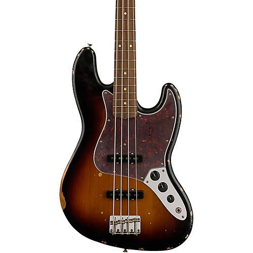 Fender '60s Road Worn Jazz Bass Pau Ferro Fingerboard