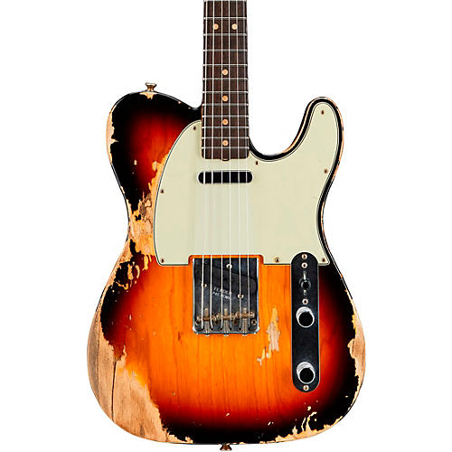 Fender Custom Shop '60s Telecaster Heavy Relic Flame Maple Electric Guitar