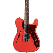 60s Telecaster Thinline Journeyman Relic Limited Edition Electric Guitar Aged Fiesta Red