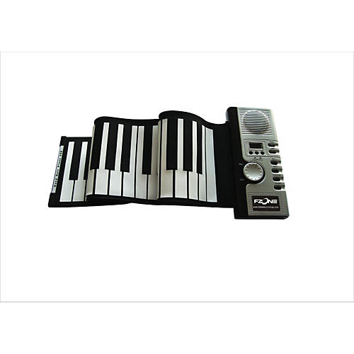 Fzone 61-Key Roll Up Electric Piano