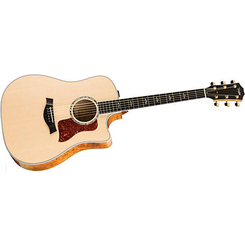 Taylor 610ce-L Maple/Spruce Dreadnought Left-Handed Acoustic-Electric Guitar