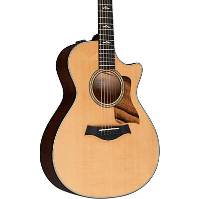 Taylor 612ce V-Class Grand Concert Acoustic-Electric Guitar