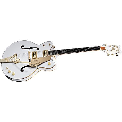 Gretsch Guitars 6136DC White Falcon Double Cutaway Hollowbody Electric Guitar