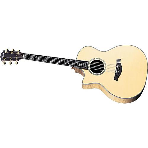 Taylor 614CE Left-Handed Grand Auditorium Acoustic-Electric Guitar (2010 Model)