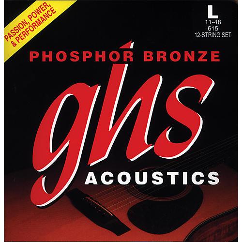 GHS 615  12 String Light Phosphor Bronze Acoustic