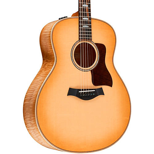 Taylor 618e Grand Orchestra Acoustic-Electric Guitar Antique Blonde
