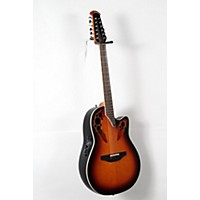 Used Ovation Standard Elite 2758 Ax 12-String Acoustic-Electric Guitar New England Burst 888365954585