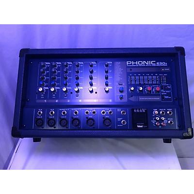Phonic 630R Power Amp