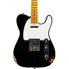 '65 Custom Relic Telecaster Maple Fingerboard Electric Guitar Aged Black
