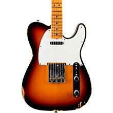 '65 Custom Relic Telecaster Maple Fingerboard Electric Guitar Faded 3-Color Sunburst