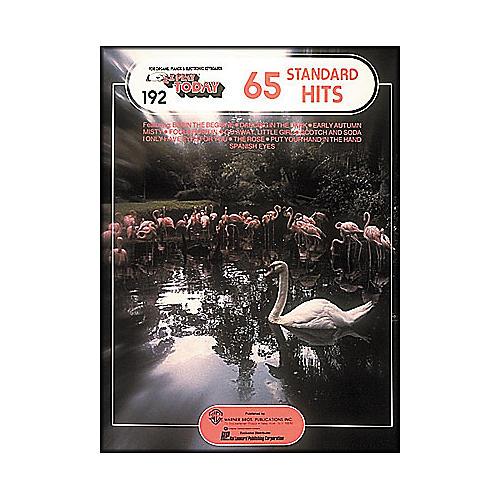 Hal Leonard 65 Standard Hits E-Z Play 192