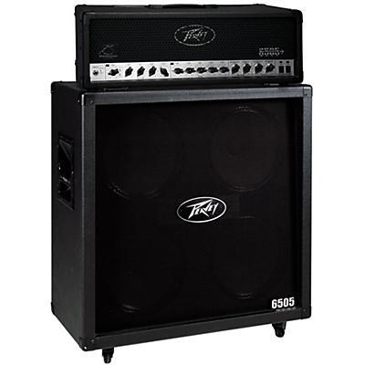 Peavey 6505+ 120W Guitar Head with 6505 4x12 2400W Cabinet