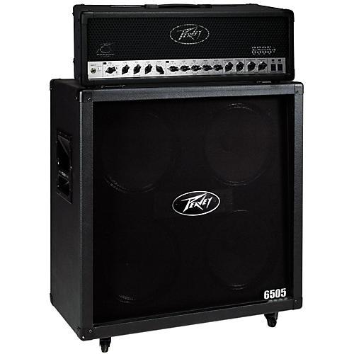 Peavey 6505+ 120W Guitar Head with 6505 4x12 2400W Cabinet Straight