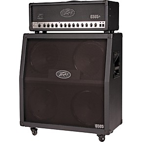 peavey 6505 120w tube guitar amp head and 300w 4x12 speaker cab half stack musician 39 s friend. Black Bedroom Furniture Sets. Home Design Ideas