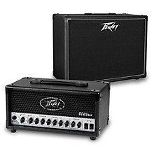 Peavey 6505 MH Micro 20W Tube Guitar Amp Head with 112-6 25W 1x12 Cabinet