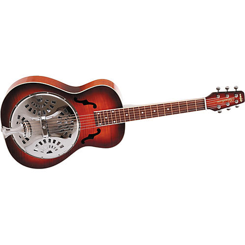 Wechter Guitars 6524-F Scheerhorn Square Neck Resonator Guitar