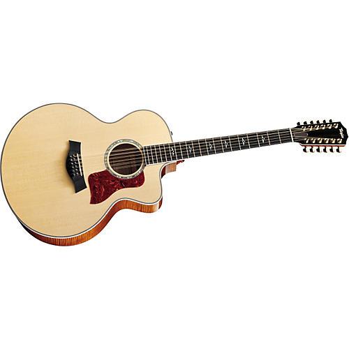 taylor 655ce 12 string jumbo acoustic electric guitar 2011 model musician 39 s friend. Black Bedroom Furniture Sets. Home Design Ideas
