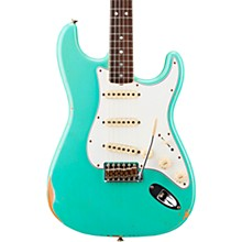 '67 Relic Stratocaster Rosewood Fingerboard Electric Guitar Faded Aged Sea Foam Green