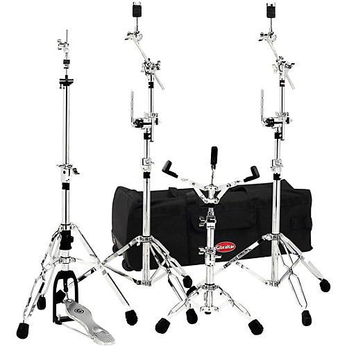 gibraltar 6700 gig pack drum hardware pack with 33 in rolling bag musician 39 s friend. Black Bedroom Furniture Sets. Home Design Ideas