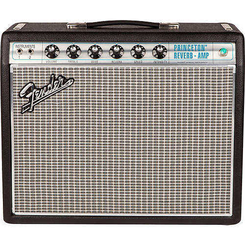 fender 39 68 custom princeton reverb 12w 1x10 tube guitar combo amp with celestion ten 30 speaker. Black Bedroom Furniture Sets. Home Design Ideas