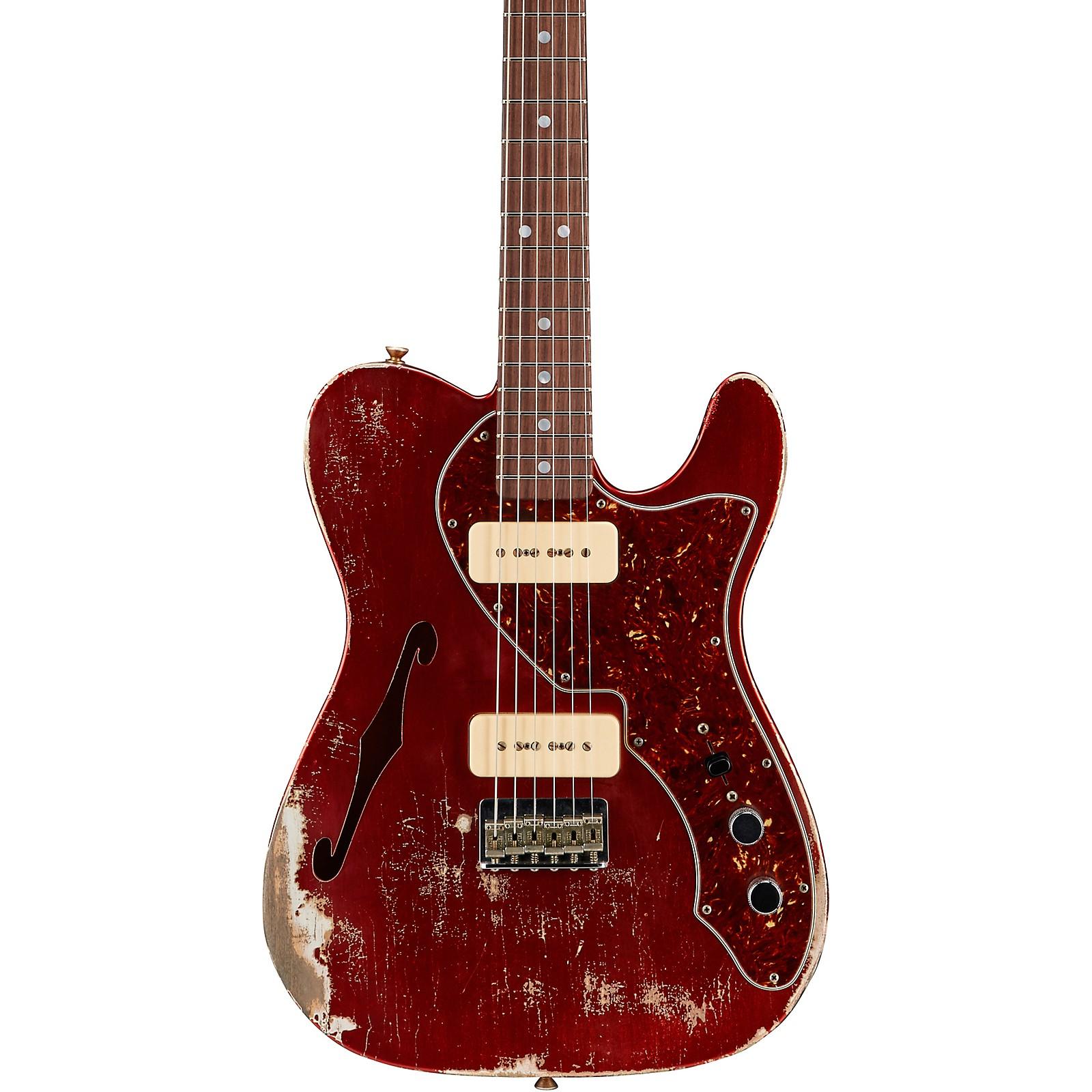 Fender Custom Shop '68 Thinline Telecaster Relic Electric Guitar Masterbuilt by Greg Fessler