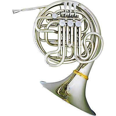 Hans Hoyer 6802NSA Heritage Kruspe Style Series Double Horn with String Linkage and Detachable Bell