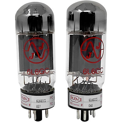 Ruby 6L6GCCZ Matched Amp Tubes