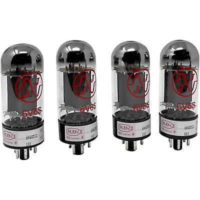 Ruby 6V6 Matched Amp Tubes