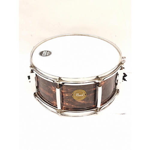 Pearl 6X14 LIMITED EDITION MAPLE Drum Trans Brown 13