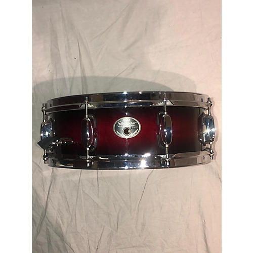 TAMA 6X14 Silverstar Snare Drum Red to Black Fade 13