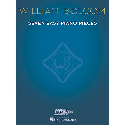 Edward B. Marks Music Company 7 Easy Piano Pieces E.B. Marks Series Softcover Composed by William Bolcom